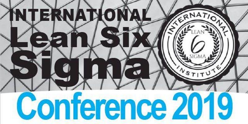 International Lean Six Sigma Institute Conference 2019